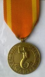 Польская медаль За Варшаву.