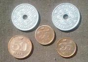Старые монеты Дании